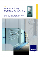 Les portes créatives PVC