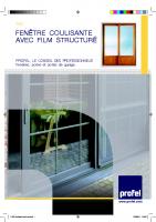 Les fenêtres coulissantes PVC